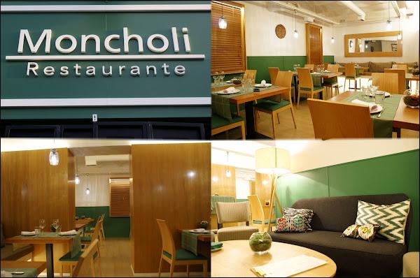 Restaurante Moncholi Madrid Ibiza (entrada, salones...)