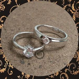 cincin paladium perak p5041