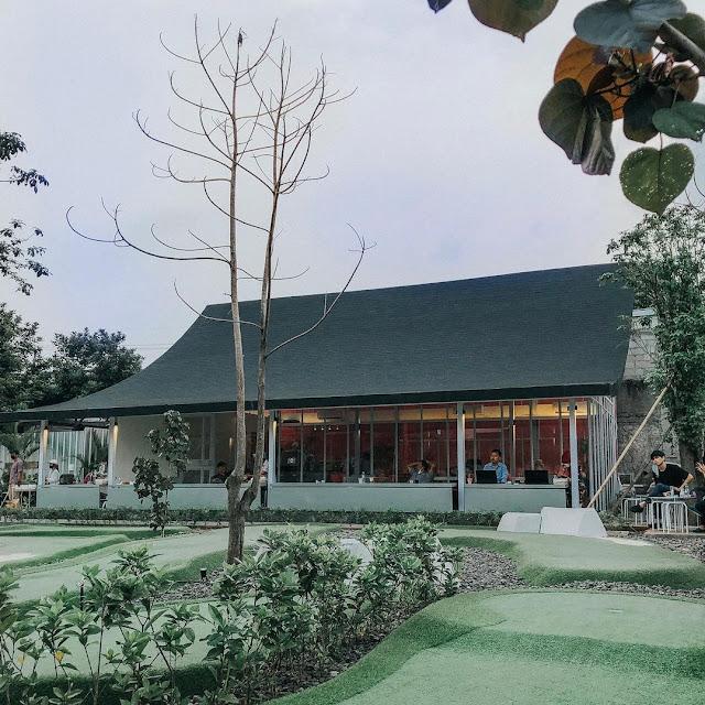 Lokasi dan Harga Menu Kolepa Mini Golf & Coffee Shop Bintaro