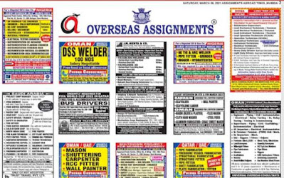 Assignments Abroad Jobs~6 March