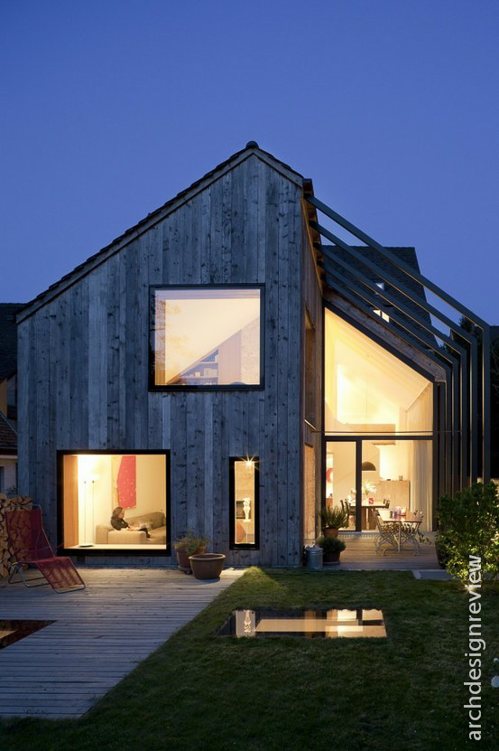 Architecture And Design Pitched Roofs In Modern Architecture