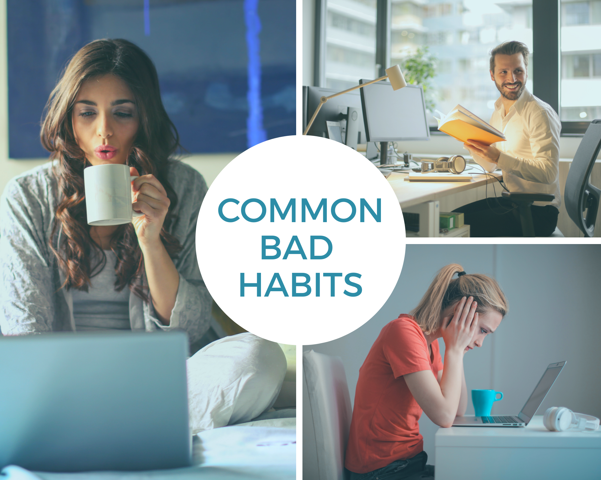 Common bad habits people have