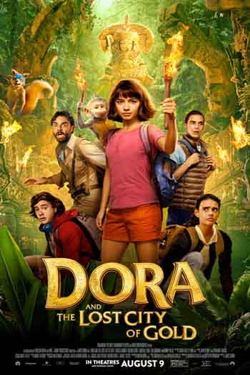 Dora and the Lost City of Gold 2019 480p 300MB BRRip Dual Audio
