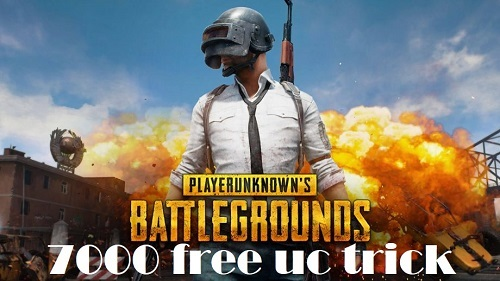 [100% working]How to Get 7000 free uc Pubg mobile