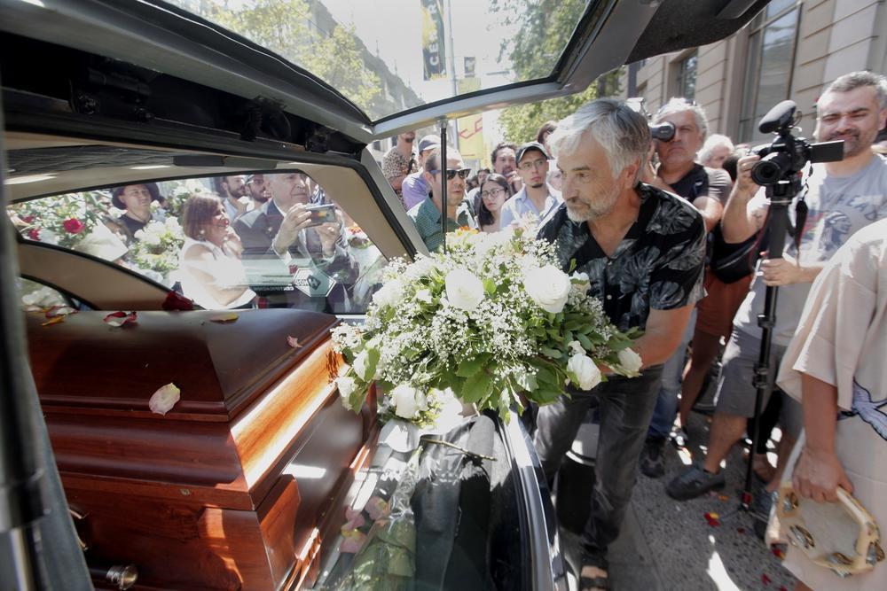 Funeral de Bélgica Castro y Alejandro Sieveking