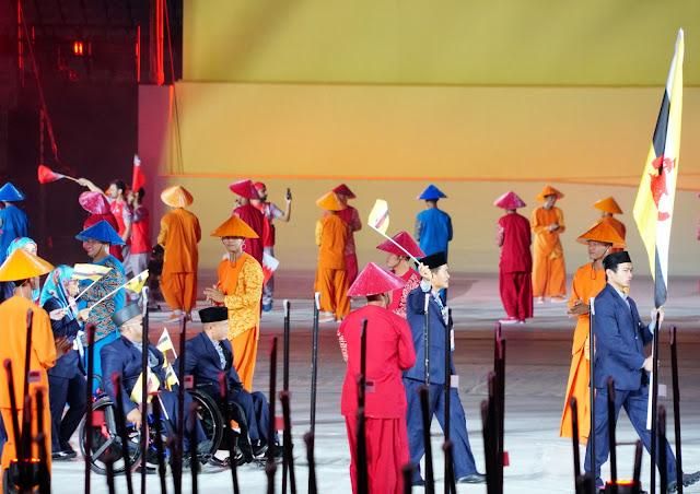 Angkat Tema We Are One', Upacara Pembukaan Asian Para Games 2018 Berlangsung Meriah