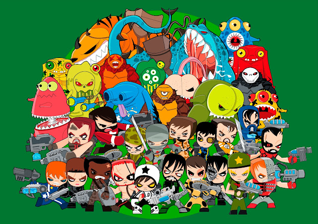 Películas Y Series De Animación En 3d Dibujos Animados Personajes