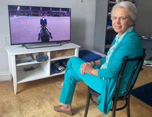 Princess Nathalie zu Sayn-Wittgenstein-Berleburg, is the national coach of the Danish national dressage team