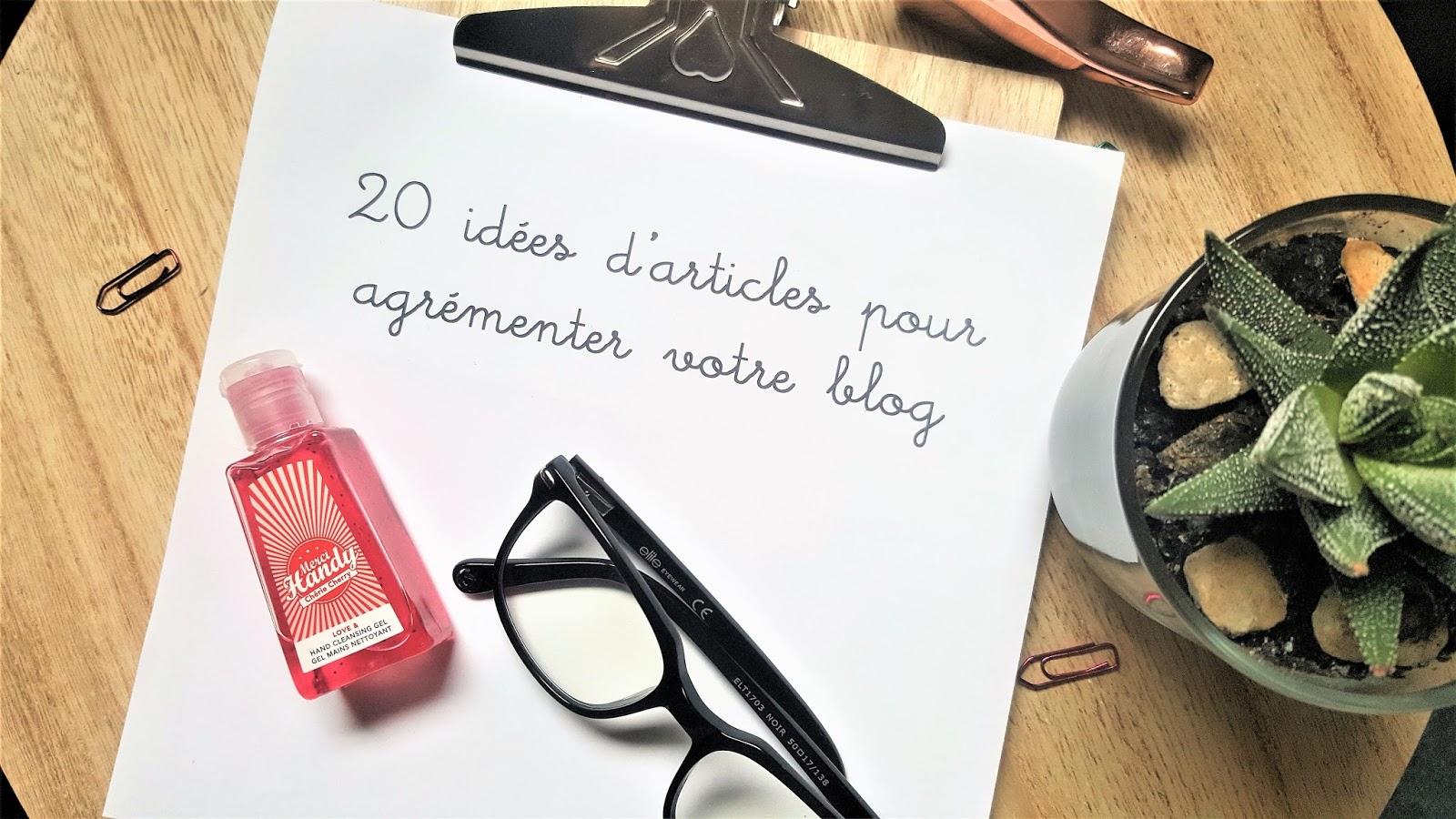 idées articles blog