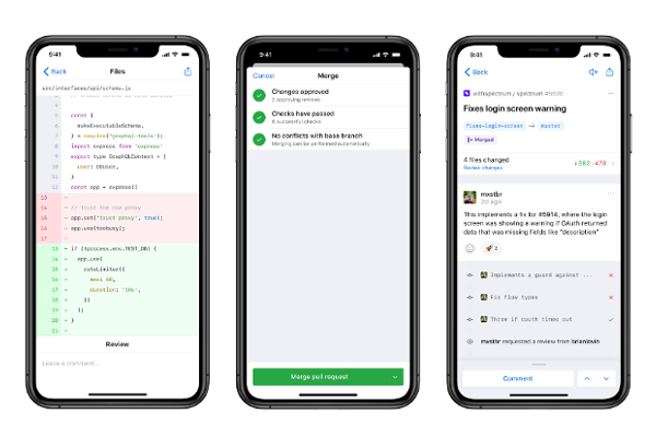 GitHub mobile app launches on iPhone and iPad, Coming soon to Android