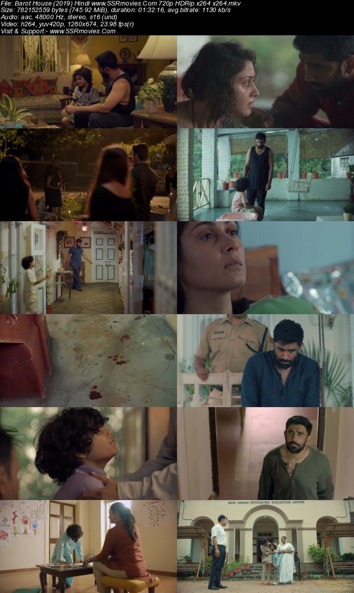 Barot House (2019) Hindi 480p HDRip x264 x264 250MB Movie Download