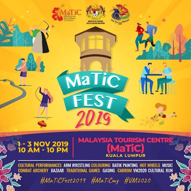 Matic Fest kembali selepas 5 tahun!