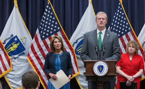 Baker establece orden de quedarse en casa en Massachusetts desde el viernes