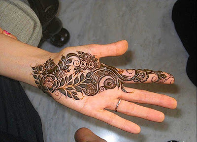 Simple mehndi designs that is awesome & super easy to try now