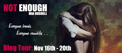 Not Enough by Mia Hoddell book blog tour banner