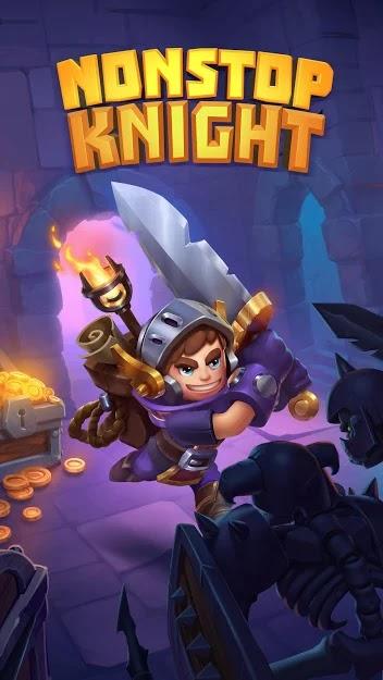 Nonstop Knight v 2.14.3 apk mod INIMIGOS FRACOS