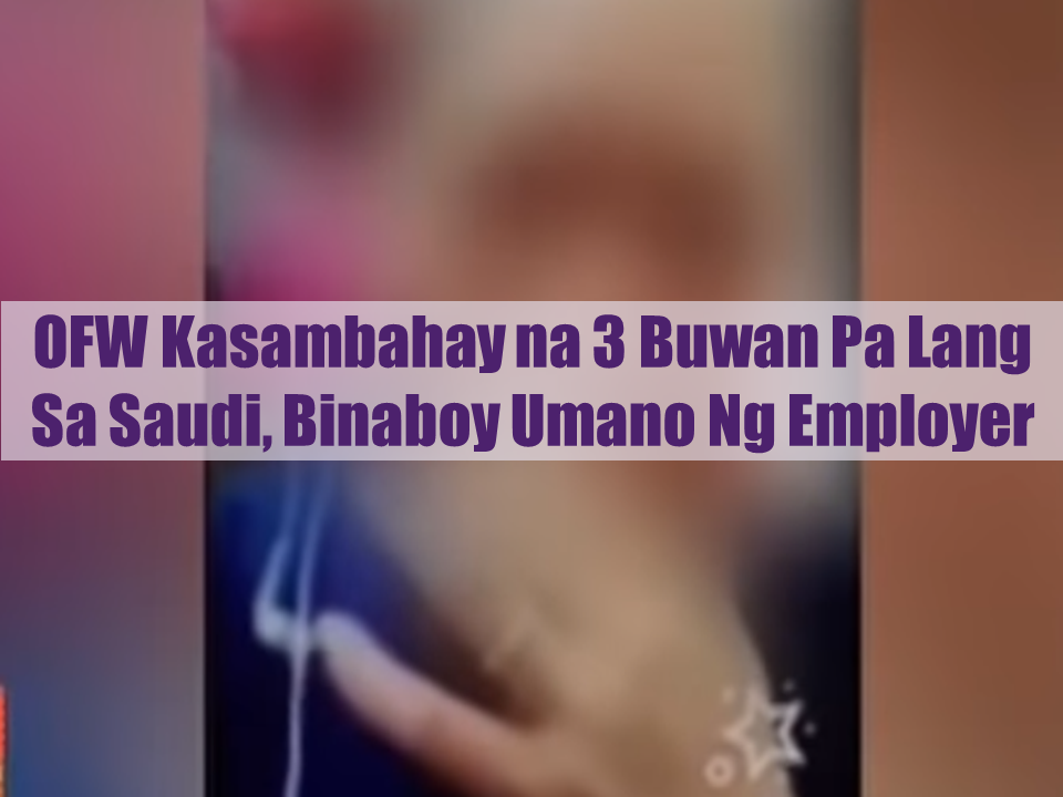 The Middle East, particularly Saudi Arabia and Kuwait, has the most reported cases of abuse and maltreatment to OFWs especially the domestic workers. Just recently, President  Rodrigo Duterte has ordered a deployment ban of OFWs to Kuwait and said the ban will not be lifted until the conditions on making sure that OFWs are treated well be signed. Kuwait agreed and signed the MOU. Will it be done also with Saudi Arabia?  Advertisement        Sponsored Links       An overseas Filipino worker in Saudi Arabia was crying as she pleads help for the sexual molestation she suffered from her employer's son. She said It started when she was only working for her sponsor for 3 months. Aside from raping her, the employer's son also asked her to do lascivious things. And even before Ramadan started, the suspect once again raped her.   She cannot do anything. She cannot run away in fear that she might come into a greater risk. She cannot even bring her phone out.  The Philippine consulate in KSA promised to take action on the case of the OFW.   Consul General Edgar Badajos also call on OFWs who were experiencing similar abuse to contact them for his office to take appropriate action immediately. READ MORE: Do You Want College Scholarship? Check This Out Now!   No HSWs Has Been Sent To Kuwait Yet After Lifting Of Ban    In Demand College Courses Which Only A Few Take Up    OFWs Must Save, Get Insurance And Have An Investment    OFW Help Desks From TESDA Now Available at International Airports    Signs That You And Your Partner Have An Unhealthy Communication    It's More Deadly In The Philippines? Tourism Ad In New York, Vandalized    Earn While Helping Your Friends Get Their Loan    List of Philippine Embassies And Consulates Around The World    Deployment Ban In Kuwait To Be Lifted Only If OFWs Are 100% Protected —Cayetano    Why OFWs From Kuwait Afraid Of Coming Home?   How to Avail Auto, Salary And Home Loan From Union Bank