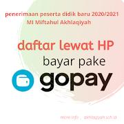 Daftar lewat HP, bayar pakai Gopay