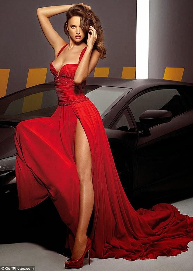 Passion For Luxury Amazing Dresses Of Irina Shayk