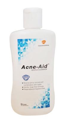Acne Aid Gentle (ขวดสีฟ้า)