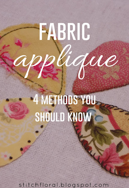 Fabric appliqué: 4 methods you should know