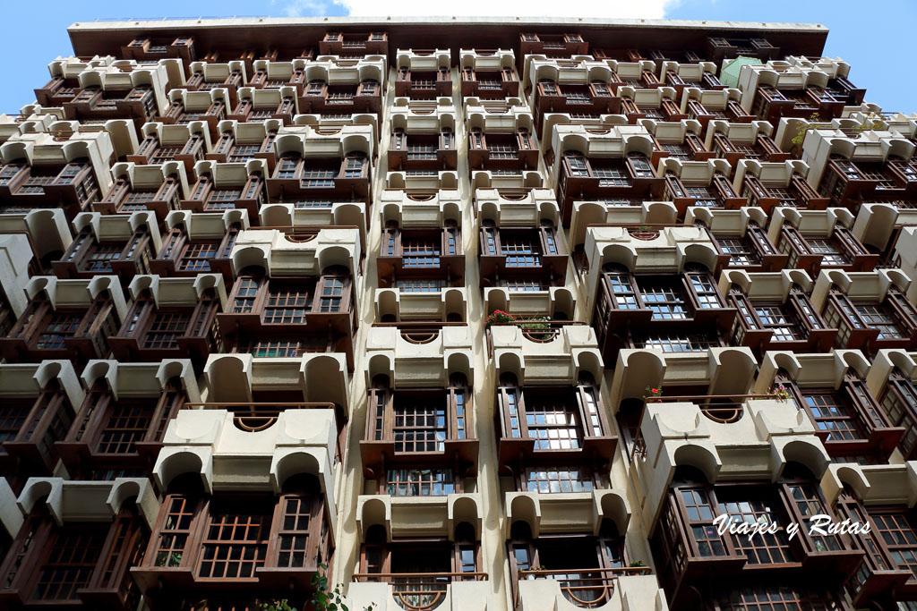 Edificio d ela Calle del Paseo de Ourense
