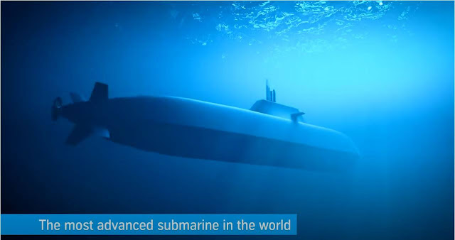 HDW Submarino Clase 212CD