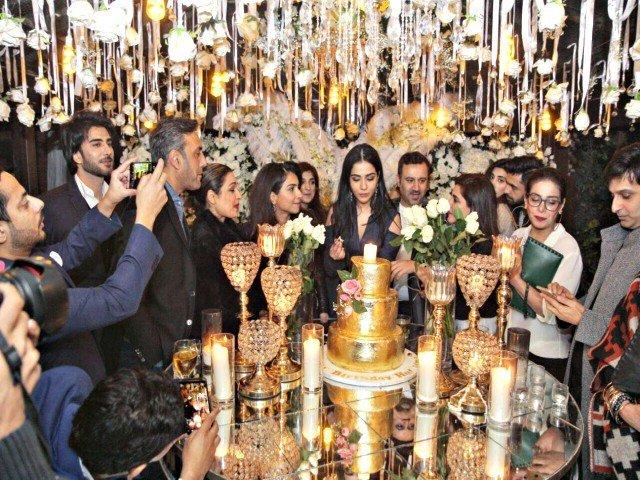 Humaima Malick's grand birthday bash