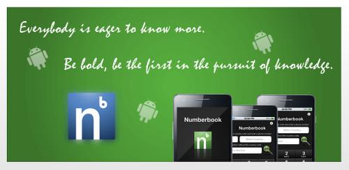 تطبيق Number Book لكشف اسماء المتصلين و معرفة الرقم الخاص للاندرويد
