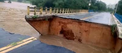 Com as fortes chuvas, Governo orienta rotas alternativas aos motoristas