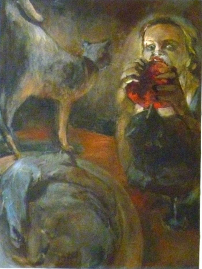 Израильский художник. Hillah Nevo