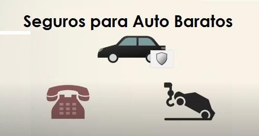 Texto en Negro Seguros para Auto con Imagenes de Vehiculos