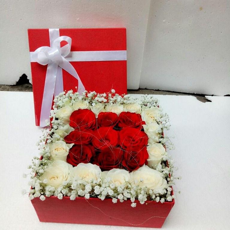 Karangan Bunga Box 017