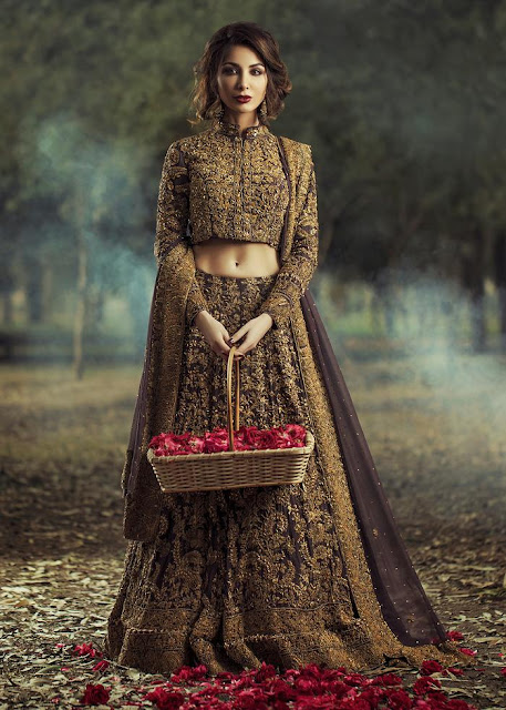 HSY Naulakha bridal dress