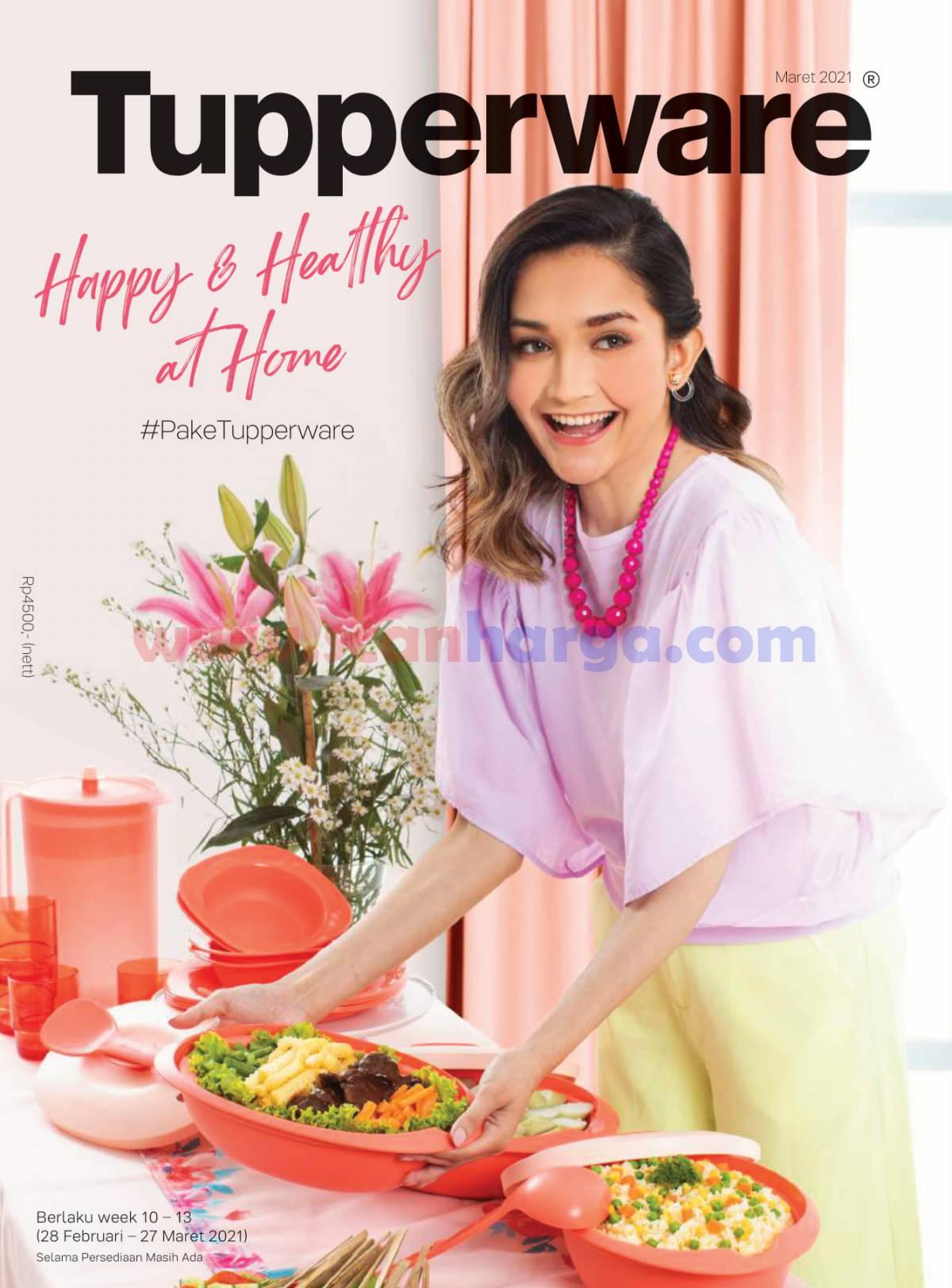 Katalog Tupperware Brosur Promo Maret 2021
