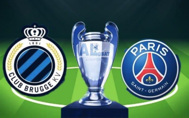 مباراة باريس سان جيرمان وكلوب بروج -دوري رابطة ابطال اوروبا -مباراة باريس سان جيرمان  -القنوات الناقلة - باريس سان جيرمان ضد كلوب بروج