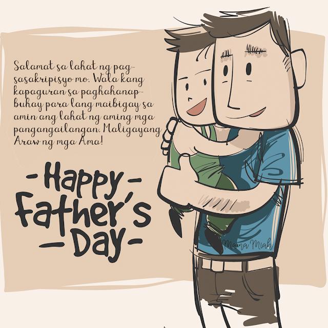 Happy Fathers Day! Maligayang Araw ng mga Ama!