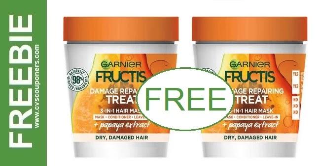 FREE Garnier Fructis Hair Mask CVS Deals