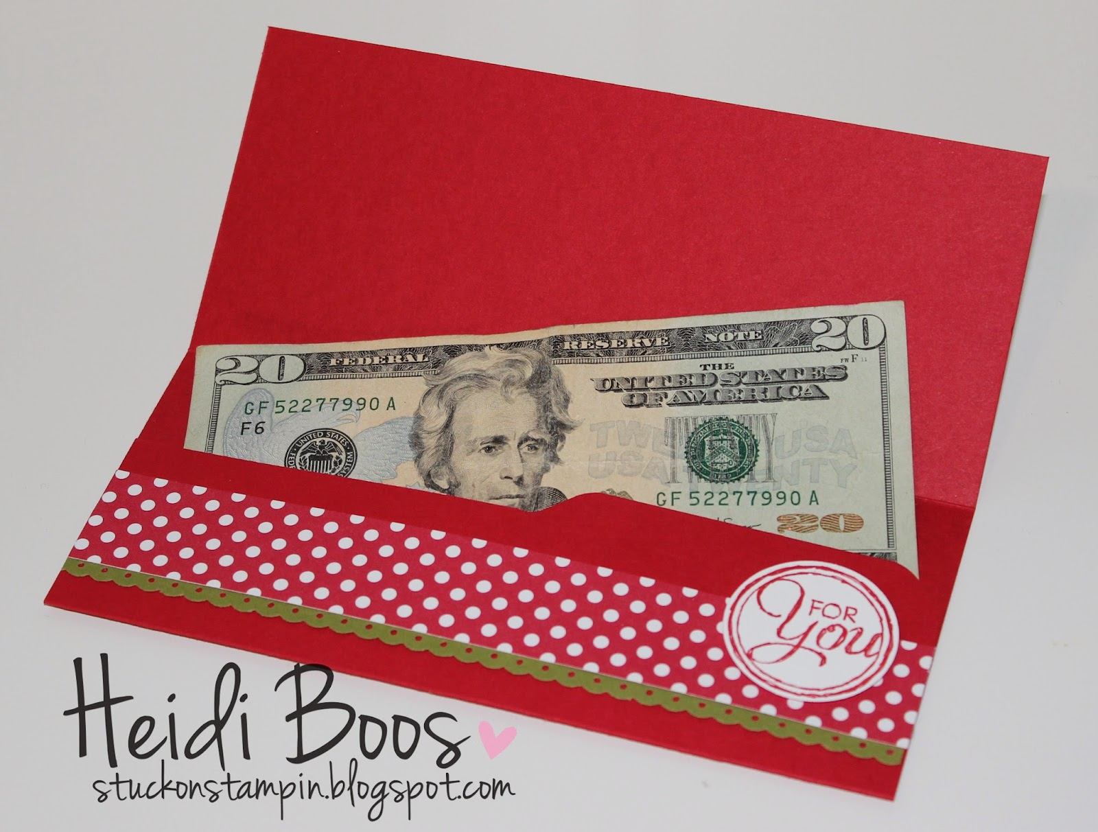 Stylin' Stampin' INKspiration: Envelope Punch Board Money ...