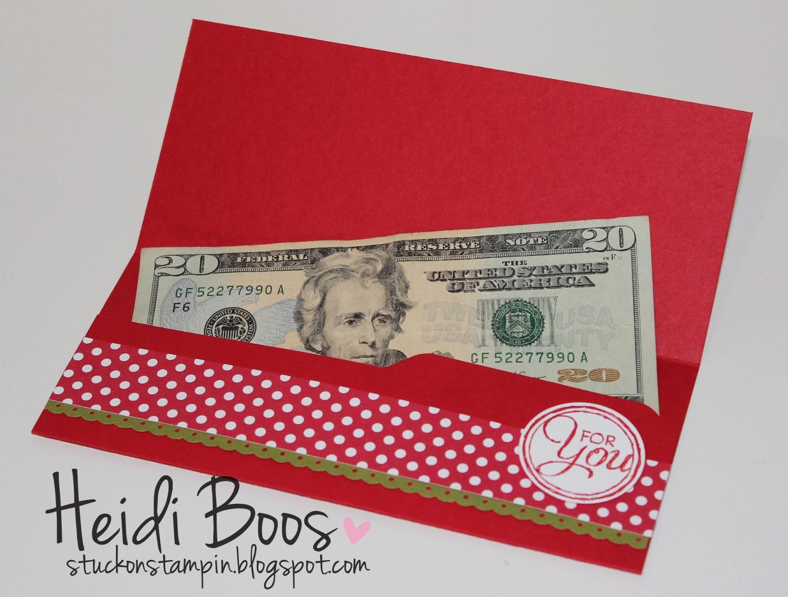 Stylin' Stampin' INKspiration: Envelope Punch Board Money ...