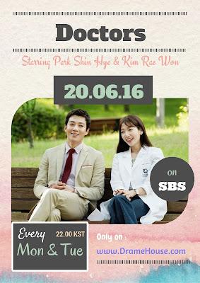 Drama Korea Doctors Starring Park Shin Hye Kim Rae Won