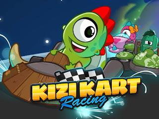 Jogo online grátis Kizi Kart Racing