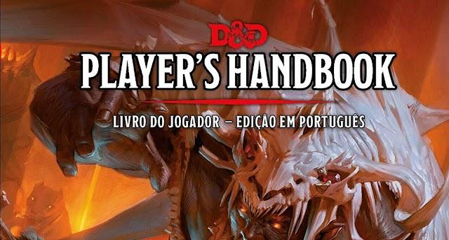 Livro do Dungeons & Dragons em português entra em pré-venda na Amazon! Garanta o seu com frete grátis!