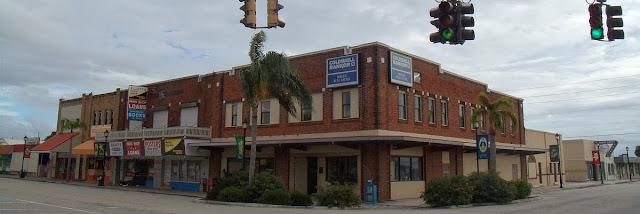 Edificios en el Downtown de Okeechobee