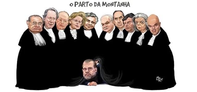 """O voto confuso e cheio de estatísticas de Dias Toffoli, muito preocupado em mostrar que não era a prisão em segunda instância a causa da """"impunidade"""" no sistema judicial"""