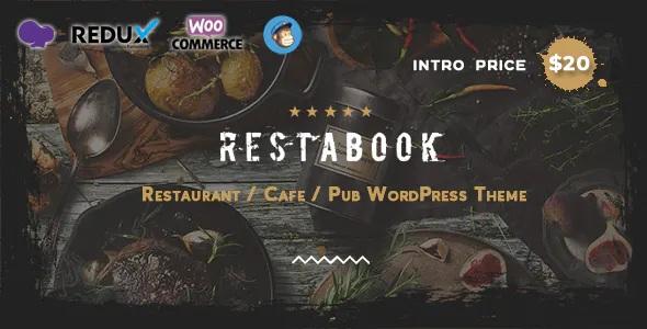 Restaurant / Cafe / Pub WordPress Theme