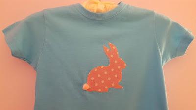 DIY Bunny Spring T-shirt