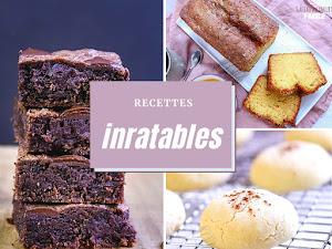 12 recettes de desserts inratables