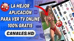 LA MEJOR APLICACIÓN PARA VER TV ONLINE DESDE ANDROID 2020 / CANALES HD ONLINE