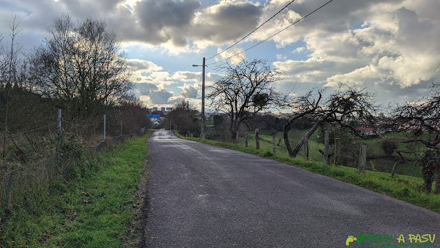 Camino de Santa Ana de Abuli a Oviedo